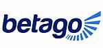 betago Logo, blaue Schrift auf weißem Grund