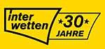 interwetten Logo, schwarze Schrift auf gelbem Grund
